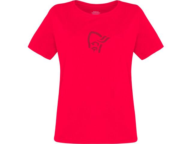 Norrøna /29 Viking Baumwoll T-Shirt Damen crisp ruby